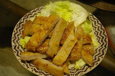 豚の味噌漬け (2010-03-04)