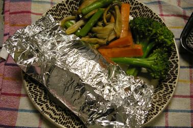 包み焼きハンバーグ (2010-05-29)
