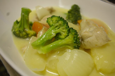 チーズシチュー (2010-10-22)