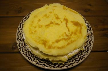 ホットケーキミックスでミルクレープ (2010-12-27)