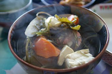 元旦のお雑煮 (2011-01-01)
